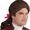 Men's Deluxe (Brown) Colonial Wig