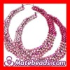 Basketball Wives Rhinestone Bamboo Earrings