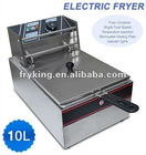 Commercial single basket electric table top Fryer