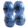 High quality dumbbell set - water poured dumbbell with RoHS approval