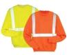 hi vis reflective safety sweatshirt with EN471 standard