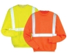 hi vis reflective safety sweatshirt with EN471 standard