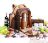 Ride for two picnic bag 22 liters the outdoor fresh package insulation package with cutlery