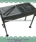 stainless steel gas table barbecue grill