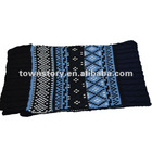 Hot Unisex Two sides Knitted Acrylic fashion scarf 2012
