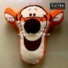 100% Polyester Plush Applique Toy Cushion