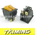 [Super Deal] rocker switch, KCD8-212N yellow