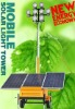 Mobile solar light tower with tralier and best service