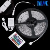 RGB 3528SMD LED Flexible Strip Light With Controller 60LEDs/m