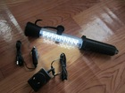 LED Rechargeable Cordless Magnetic Work Light Flash