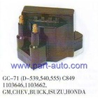 MARTSOURCES24007 GC-71 (D-539,540,555)C849 1103646,1103662, GM,CHEV,BUICK,ISUZU IGNITION COIL