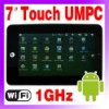 "7"" Google Android Tablet PC Netbook UMPC MID 4GB WEBCAM O-723"