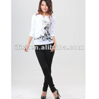 ladies new fashion casual fit hot selling trouser
