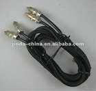 2rca metal rca cable