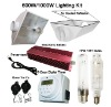 600W/1000W indoor grow light kit