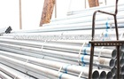 14-55mm galvanized round steel pipe