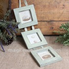 Vintage Sets Light Blue Shabby Wood Photo Frame