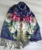 100% silk scarf