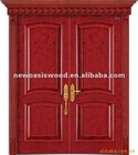 Solid wood doors exterior
