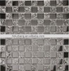 SILVER COLOR luster mosaic