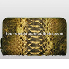 2012 Python leather women snake skin clutch bags