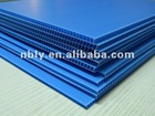 eco-friendly colored pp corrugated board