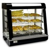 Three tier quality acrylic display cabinet