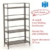 iron folding book shelf
