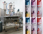 Aerosol body spray filling machinery