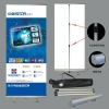 Adjustble roll up banner stand
