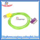 USB Data Line Charging Cable for iPhone/for iPod/for iPad
