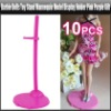 Barbie Dolls Toy Stand Mannequin Model Display Holder Pink Purple Gift, YGA431A