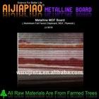 Metal board - aluminium film laminated MDF