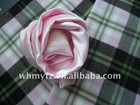 big plaid tweed coating fabric for clothes winter coats