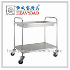 2-Tier Stainless Steel Dining Serving Cart A1042