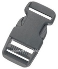 Plastic side release buckle