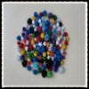 hot selling pompoms for diy crafts