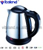 1.8L stainless steel kettle with 360 degree rotating base