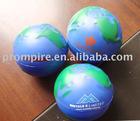 pu globe stress ball(polyurethane)