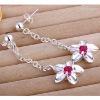 Fashion CZ earrings Crystal stone earring drop shape earriing
