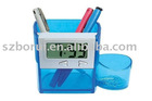 Pen holders clock, promotion gift, office stationary