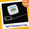 Digital Thermometer--Multi-purpose Thermometer & Timer