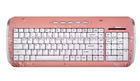 Pink ceramic keyboard