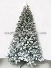 Snowing Christmas Tree with Umbrella Base