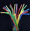 Solid Flexible Plastic Drinking Straw