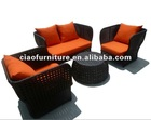 Water-proof Garden Patio Sofa Wicker Furniture