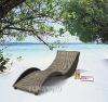 Natural Lined Lounge Chair