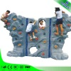 Promotional indoor rock climbing wall
