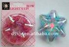 Fashion Led Optical Fiber Bow/Flower <JJH-180A>