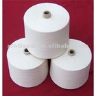 for knitting and weaving 16s-40s virgin raw white polyester-viscose yarn
